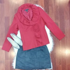 INC International Concepts Red Blazer/Jacket